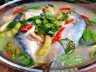 ข้อมูลโภชนาการ ใน ต้มยำปลาทู 1 ถ้วย ให้พลังงานทั้งสิ้น เท่ากับ