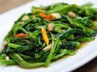 ข้อมูลโภชนาการ ใน ผัดผักบุ้งไฟแดง 1 จาน ให้พลังงานทั้งสิ้น เท่ากับ