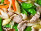 ข้อมูลโภชนาการ ใน ผัดผักรวมหมู 1 จาน ให้พลังงานทั้งสิ้น เท่ากับ