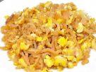 ข้อมูลโภชนาการ ใน ผัดไชโป๊ใส่ไข่ 1 จาน ให้พลังงานทั้งสิ้น เท่ากับ