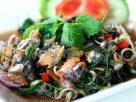 ข้อมูลโภชนาการ ใน ยำหอยแมลงภู่ 1 จาน ให้พลังงานทั้งสิ้น เท่ากับ