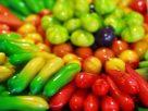 ข้อมูลโภชนาการ ใน ลูกชุบ 1 ชิ้น ให้พลังงานทั้งสิ้น เท่ากับ