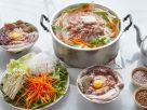 ข้อมูลโภชนาการ ใน หมูย่างเกาหลี 1 ชุด ให้พลังงานทั้งสิ้น เท่ากับ
