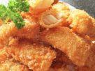 ข้อมูลโภชนาการ ใน เนื้อไก่ชุบแป้งทอด 1 ชิ้นเล็ก ให้พลังงานทั้งสิ้น เท่ากับ