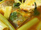 ข้อมูลโภชนาการ ใน แกงส้มปลาช่อนผักบุ้ง 1 ถ้วย ให้พลังงานทั้งสิ้น เท่ากับ