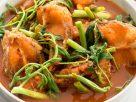 ข้อมูลโภชนาการ ใน แกงส้มผักกระเฉดปลา 1 ชาม ให้พลังงานทั้งสิ้น เท่ากับ